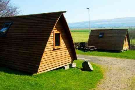 Mains Farm Wigwams - Two Nights stay  Glamping For Up To Five  - Save 48%