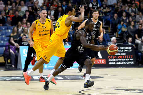 Newcastle Eagles - Two tickets to a Newcastle Eagles basketball game - Save 56%
