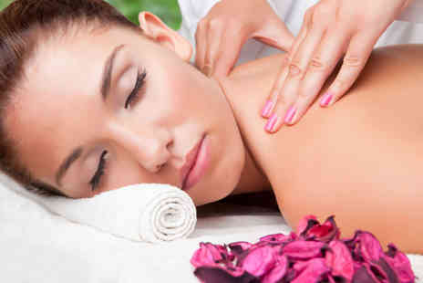 Belles Holistic Therapies - Back, neck and shoulder massage, full body scrub and Thai foot and hand massage  - Save 74%