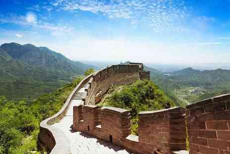 Merry Travel - Six night Historic China guided tour including 4 star accommodation, tour guide and meals - Save 74%