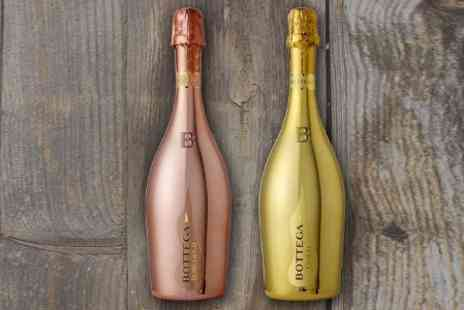 Wine Online - Two Bottles of Bottega Proescco With Free Delivery  - Save 25%
