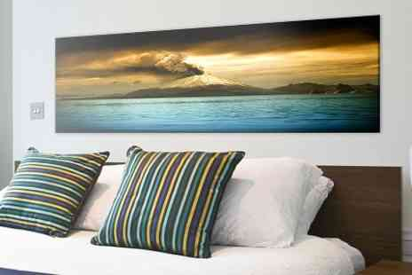 Pixframe - Personalised Landscape Canvas Print  - Save 76%
