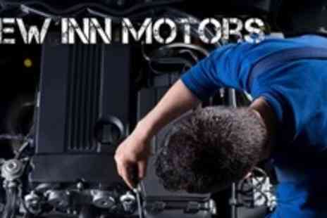 New Inn Motors - 52 Point Service With Oil and Filter Change or With MOT - Save 71%