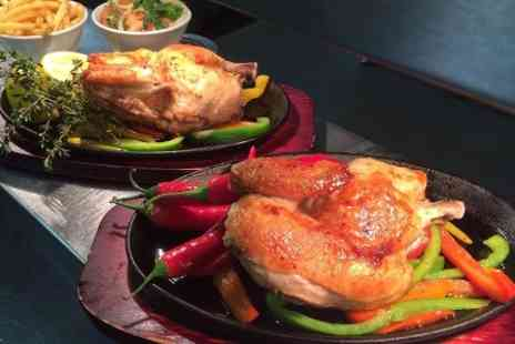 Huntleys - Whole Spring Chicken to Share Plus Starters and Sides For Two - Save 0%