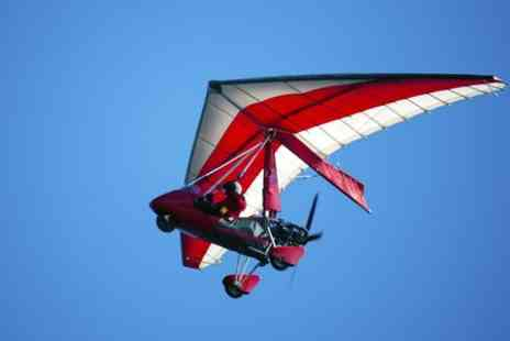 Delta Microlights -  Half Hour Trial Flight With Six Month Membership - Save 59%