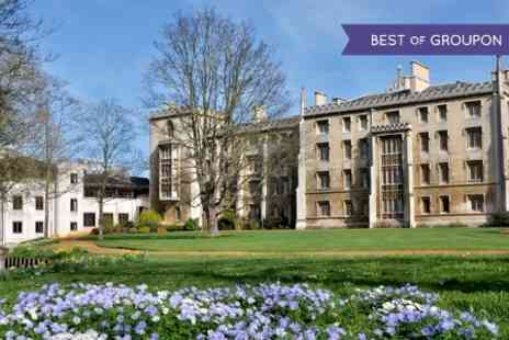 Oxbridge Tours - Cambridge Walking Tour  - Save 50%