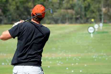 Lincoln Golf Centre - 18 Holes and 90 Range Balls For Two - Save 60%