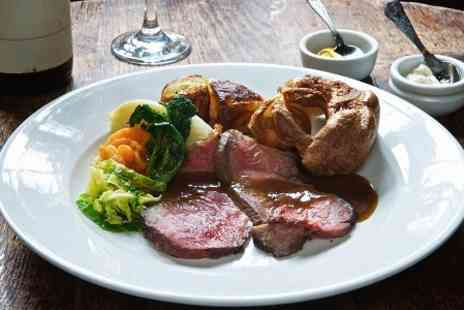 The Clanfield Tavern - Two Course Sunday Roast For Two - Save 50%