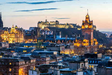 TravelUnravel - Three Star Edinburgh hotel breaks with return flights  - Save 33%