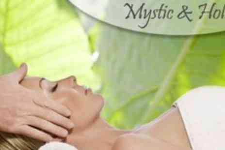 Mystic & Holistic - Deluxe Facial With Manicure or Pedicure - Save 68%