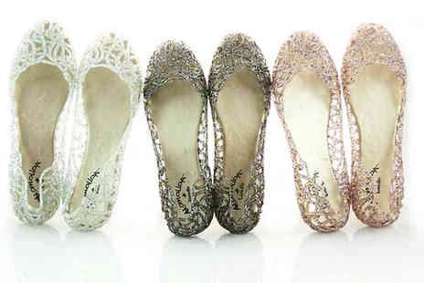 Marcus Emporium - Crystal Jelly Shoes - Save 63%