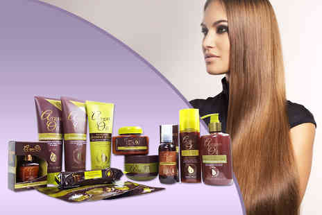 Bellaella - Twelve piece Argan Oil set including shampoo and conditioner, body butter and more - Save 63%