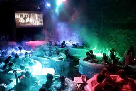 Hot Tub Cinema - Choice of Hot Tub Cinema Screening For Two - Save 17%