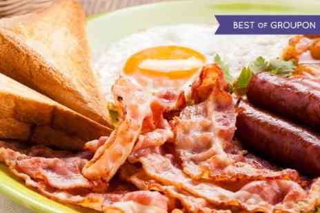 Blushh Wine Cocktail and Food - Full English With Coffee For Two  - Save 54%