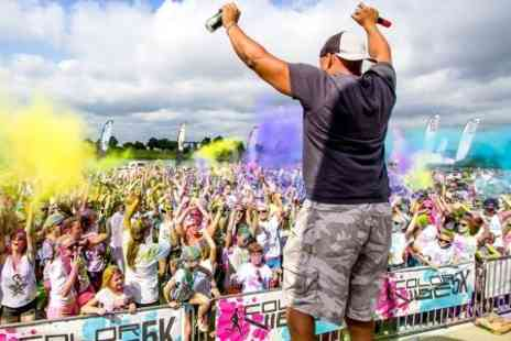 Color Vibe - Five Ticket to Kilometre Run Early Bird  Plus T Shirt - Save 33%