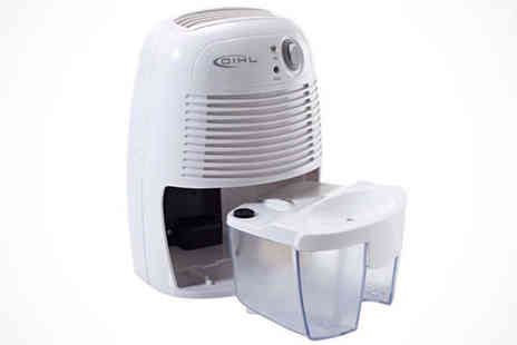 Bathroom Bulldogs - Mini Dehumidifier 500ml - Save 52%