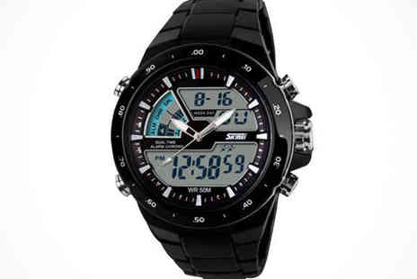 Youri deal gift store - Mens Chronograph Sports Watch - Save 58%