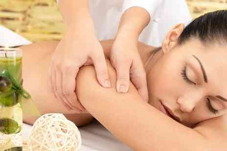 Beauty With Inn - Swedish Back Massage With Luxury Manicure  - Save 56%