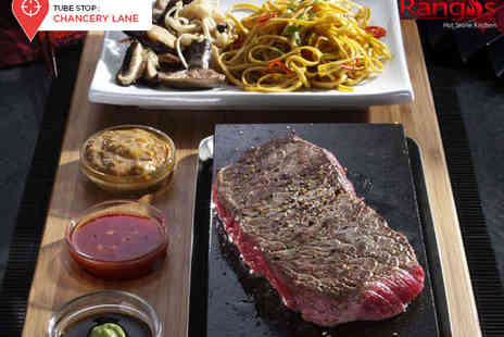 Rangos  - Starter and Main Course, or Main Course and Dessert Each for Two - Save 62%