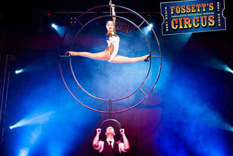 Fossetts Circus - Two Tickets to Fossetts Circus, April 1 to 6 - Save 60%