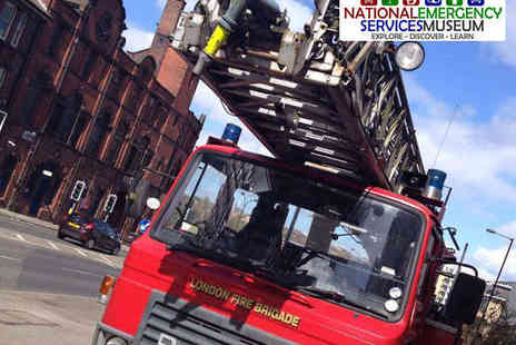 National Emergency Services Museum - Ticket for Family or Two Adults to National Emergency Services Museum - Save 57%