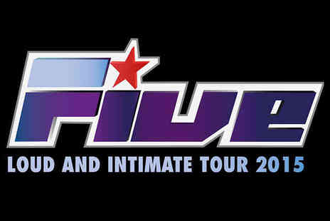 KiliLive - Two Tickets to Five for Live and Intimate Tour 2015  - Save 54%