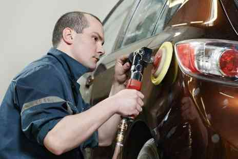Peter Gibbs Car Body Repairs - Minor Scratch Repair With Polish and Touch Up - Save 0%