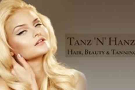 Tanz 'N' Hanz - Keratin Blow Dry with Cut and Finish - Save 72%