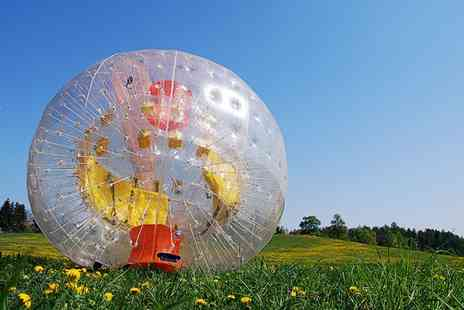 Pump It Up Events - Football Zorbing For Eight  - Save 0%