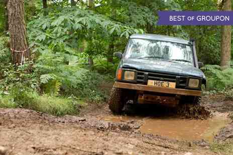 Heart of England - Off Road Driving and Laser Clay Shooting Experience  - Save 64%