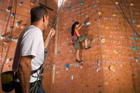 Portway Climbing Wall - 90 Minute Climbing Wall Taster Session For One - Save 63%