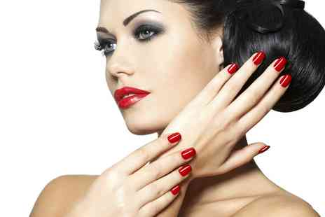 MAARI Nail And Beauty - Manicure or Pedicure or Both With Facial  - Save 61%