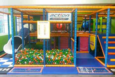 Action Indoor Sports - One Month Soft Play Access For Two Children - Save 91%