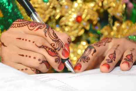 Heavenly Pink Henna and Beauty Art - One Day Makeover or Hair Styling Workshop  - Save 90%