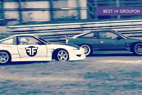 Flatout Factory - Six Hot Laps Drift Passenger Ride Experience  - Save 50%