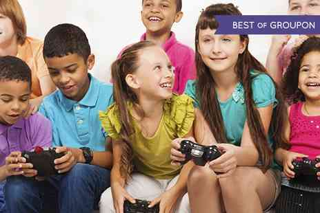 Gokidsgo - Video Gaming Party For Ten Children With Food and Refreshments  - Save 67%