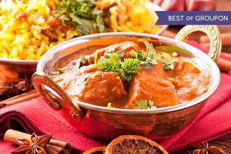 The Red Veil - Two Course Indian Meal or Takeaway  - Save 0%
