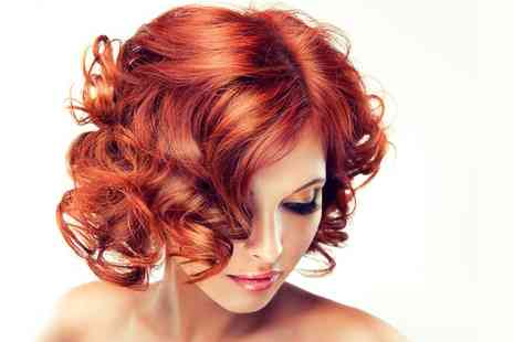 Classic cuts of Ashby - Wash, Cut and Finish With Colour Plus Straightening or Curling  - Save 47%