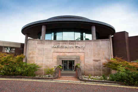 Britannia Daresbury Park Hotel - Cheshire break for two with leisure access and more  - Save 55%