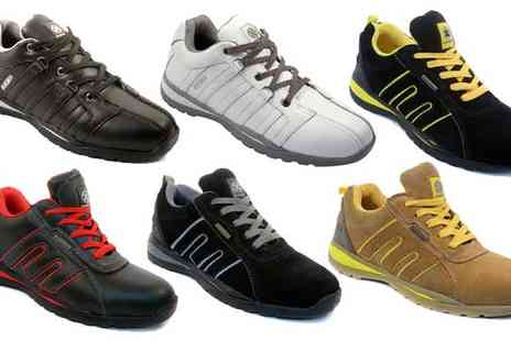 Tool Collection - Range of Safety Toe Cap Trainers - Save 73%