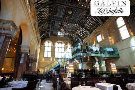 Galvin La Chapelle - Three Course Meal with a Glass of Brut for Two  - Save 0%