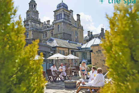 The Spa at Thoresby Hall - Spa Day Package for Two People with Spa Access, Robe and Slipper Hire, and Two Course Lunch in April, May, or June - Save 69%
