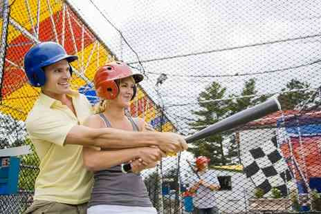 Universal Sports Arena - One Hour Baseball Batting Cage Session - Save 33%