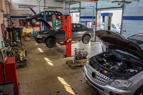 Amtec Autocare - MOT Test  Plus 60 Point Inspection With Oil Change  - Save 0%