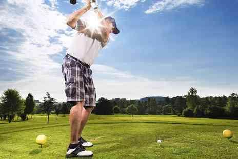 Andrew Warren Golf Coaching - One Hour Golf Lesson With K Vest  - Save 0%