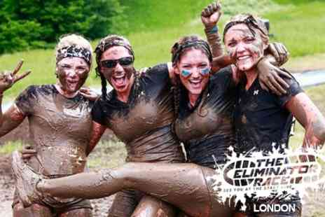 The Eliminator Race - Five Mile Entry to  Eliminator Mud Run Plus T Shirt  - Save 0%