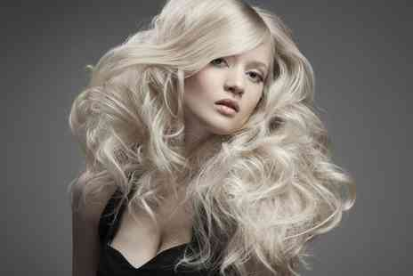 A Salon - Restyle Cut and Blow Dry With Condition - Save 53%