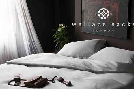 Wallace Sacks  -  £50 to Spend on Bed Linen, Towels and Home Accessories   - Save 50%