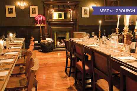 The Battleaxes - Three Course Meal With Wine For Two  - Save 0%