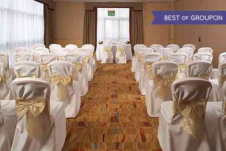 Hilton Hotel - Wedding Package With Three Course Meal, Drinks and Overnight Stay - Save 0%